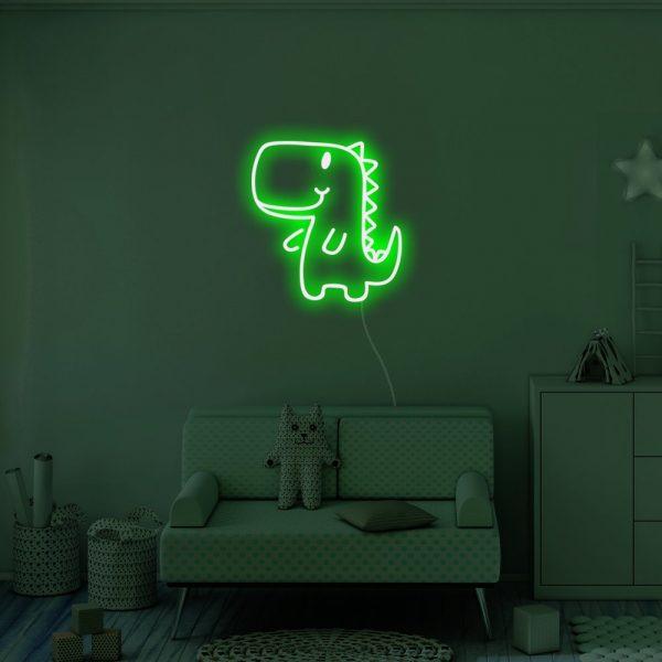 LED dinosaur wall light