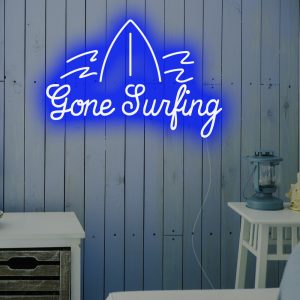 Gone Surfing Led Neon Sign